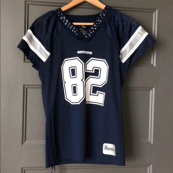 a1032910d Reebok Tops | Dallas Cowboys Rhinestone Jersey | Poshmark
